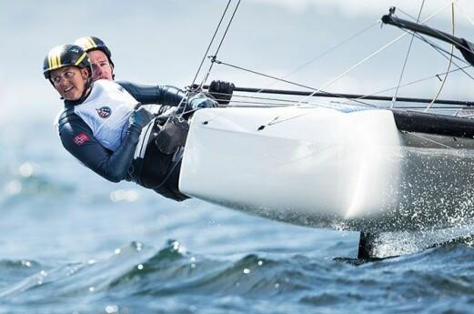 Spennende uke for OL-seilerne