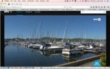 UBRUKT: Mange båter ligger ubrukt ved brygga