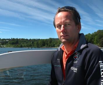 BÅT: Thomas Røang i Codan Forsikring har ansvaret for båt.