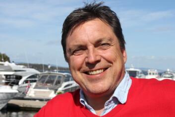 SENTRAL: Morten Gjeruldsen er daglig leder i Vollen Marina, og er klar for en aktiv sesong på bryggekanten.