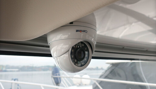 Webkamera i båten gir kontroll