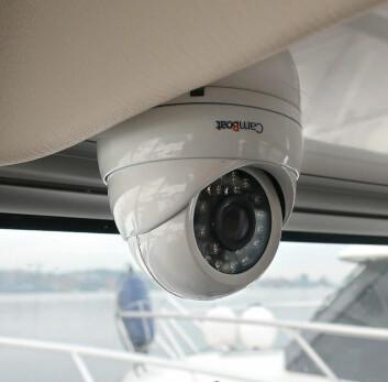 KAMERA: WebBoat registrerer bevegelser og kan avsløre uvedkommende i båten din.