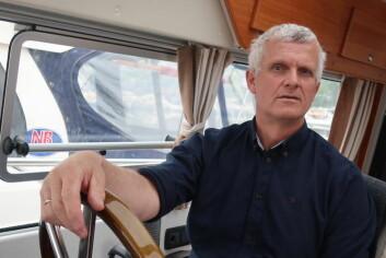 TESTER: Ole Paulsen har som oppgave å teste ut løsninger som selges hos Seatronic.