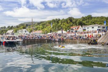 Tysnesfestivalen: Ta Sjansen er et svært populært innslag.