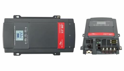 Nyhet! Tre batteriladere i én enhet for 12V og 24V, styrbar med app