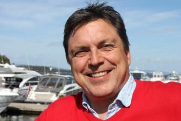 SENTRAL: Daglig leder Morten Gjeruldsen i Vollen Marina er klar for en aktiv sesong på bryggekanten.