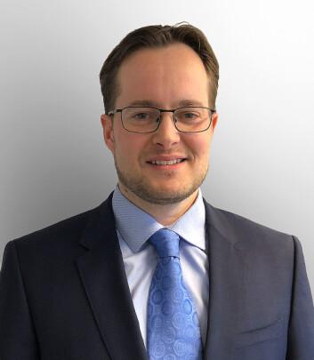 SJEF: Alf Stian Mauritz som er forretningsutvikler for IEC Telecom Group og administrerende direktør for IEC Telecom Norway.