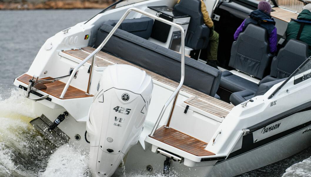 50 KNOP: V8-eren er 5,6 liter og 32 ventiler.