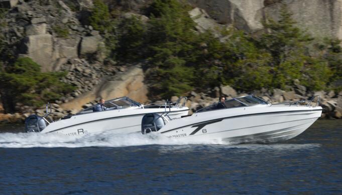 PERFEKTE FOR TUR: Finnmaster R6 og T6.