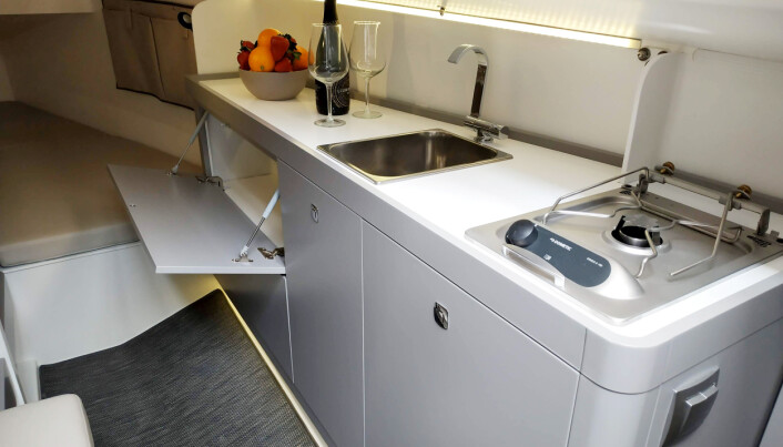 INNREDNING: Båtene bygges uten innerliner som gir økt fleksibilitet.