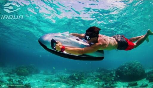 Oppdag nye steder over og under vann i sommer med iAqua vannjet