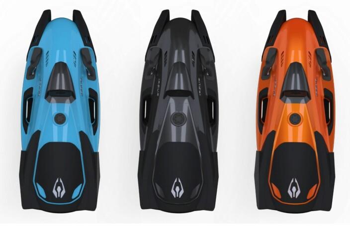 FLERE: Vannjetene finnes i åtte ulike modellvarianter med ulike farger.
