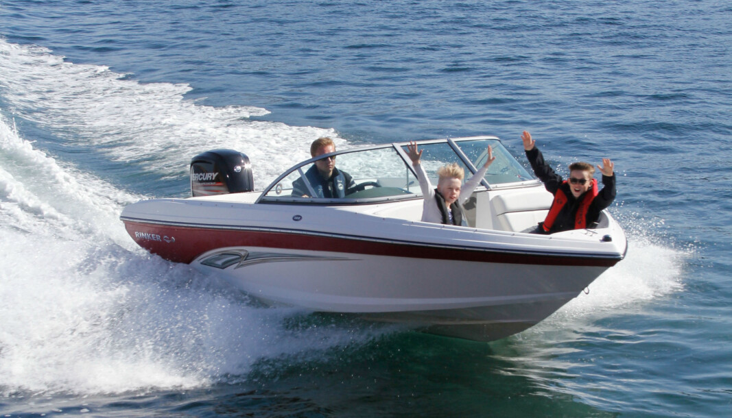 Moro med båt. Nå kan du leie båt på nett hos Boatflex