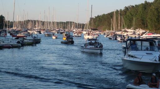 Båten reddet Sankthansaften