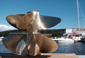 Propeller uten vibrasjoner