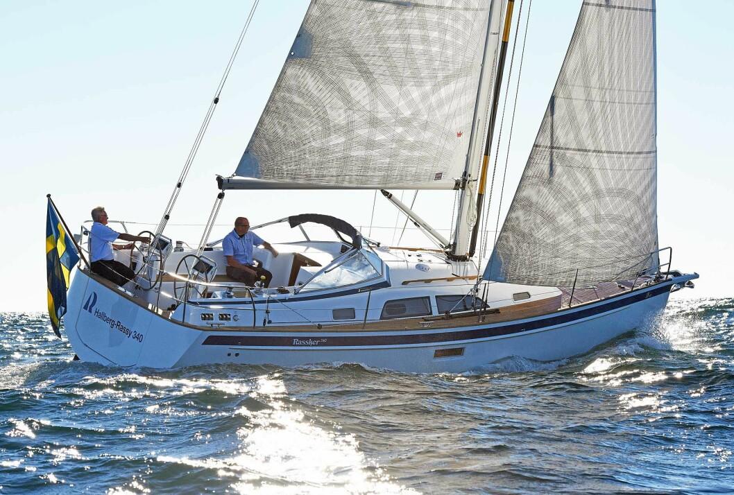 Hallberg-Rassy 340 – Drömbåt inom räckhåll