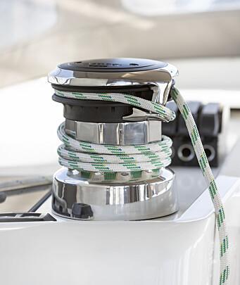 VINSJ: E40i har elmotoren innebygget i vinsjen som gjør at den kan erstatte en manuell vinsj.