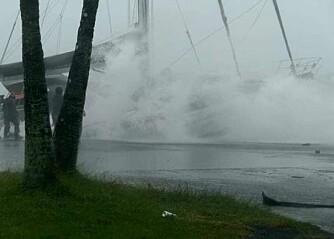 Mistet båten i navngitt syklon, og mister forsikringen