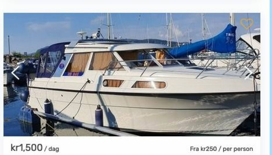 Skjermbilde Boatflex