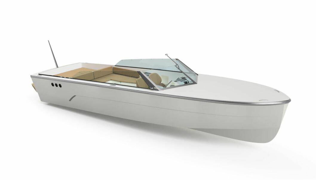 HYDROGENBÅT: HyCruiser 28 gir båtliv uten motorstøy.
