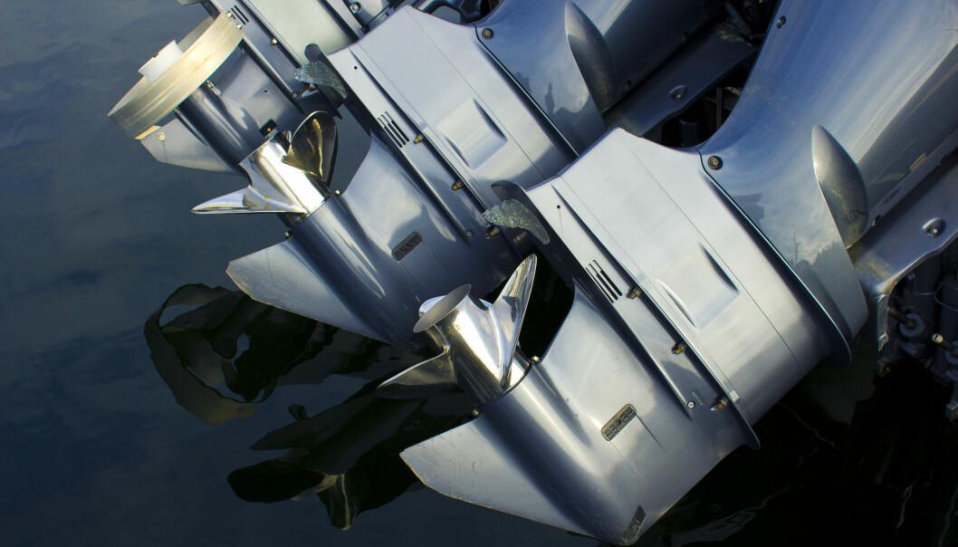 FRISTELSER: Store motorer og blankpolerte båter kan virke innbydende for ubudne gjester.