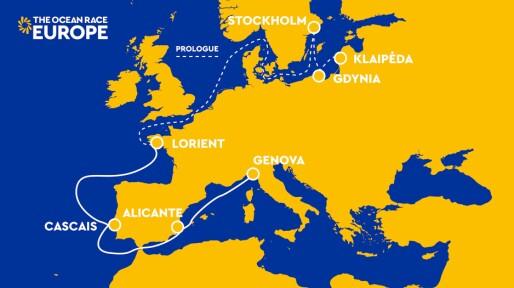 Magdahl og Bekking i Ocean Race Europe