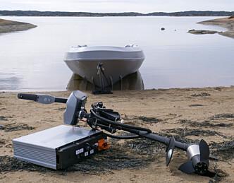 Elektrisk påhenger og batteri som garanterer båtsesongen