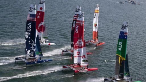 SailGP starter på Bermuda i dag