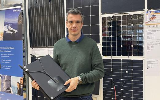 Strømforsyning med solcellepaneler