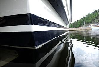 Båtvedlikehold på tur