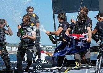 Australia vant SailGP i Plymouth