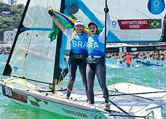 Brasil forsvarte gullet fra Rio i 49erFX