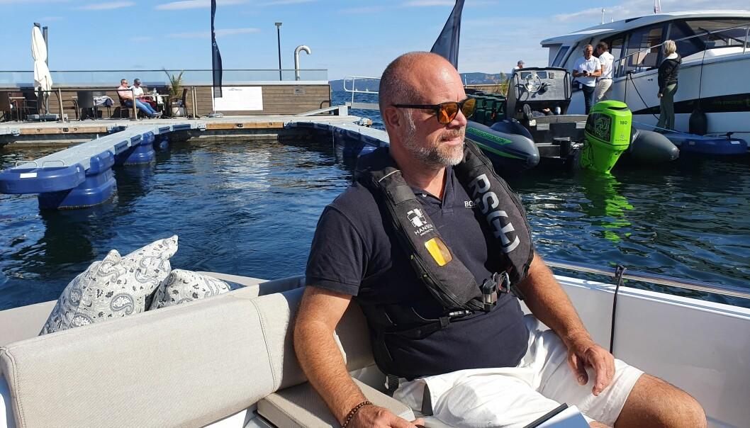 ISFRITT: Vollen båthavn ligger sentralt i Oslofjorden, og er som regel isfri